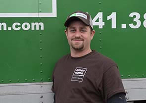 Green Home Design + Build Weatherization Supervisor Cameron Sorensen